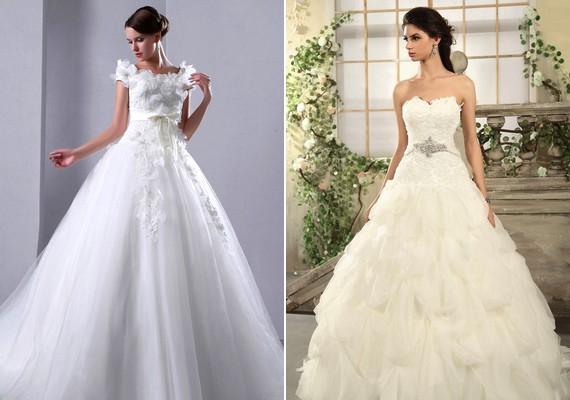 2c3f6db90a Retikül.hu - Öltözz hercegnőnek! Habos menyasszonyi ruhák tüllel