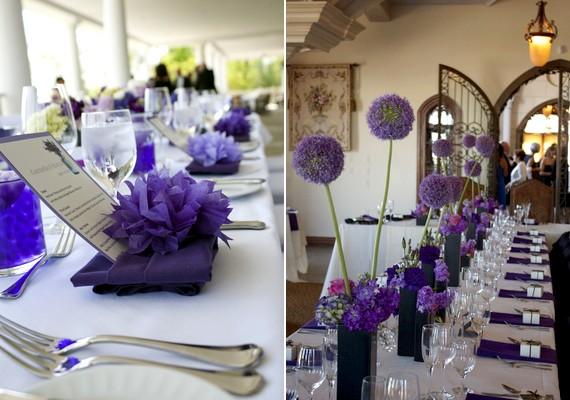 59d1e256a2 Retikül.hu - Meseszép lila dekorációk az esküvőre – Ihletadó képekkel