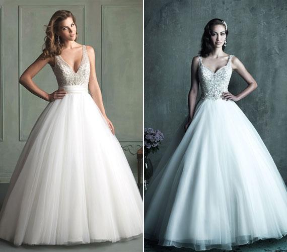 a6efc45397 Retikül.hu - 10 királylányos menyasszonyi ruha, ami nem túl giccses