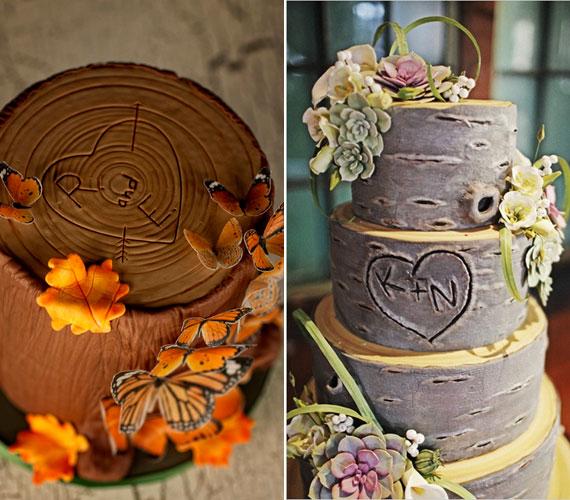 őszi esküvői torta Retikül.hu   Képek! 9 csodaszép torta őszi esküvőre őszi esküvői torta