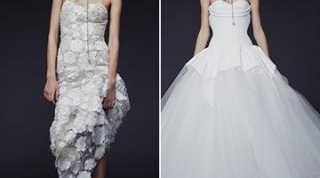 3f66da55d6 Tüll és csipke: az őszi esküvőiruha-divat kedvencei – Vera Wang tervezésében