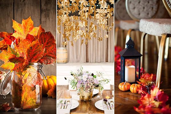 224ae90a1f Retikül.hu - Filléres esküvői dekorációk falevelekből: ezek az ősz ...