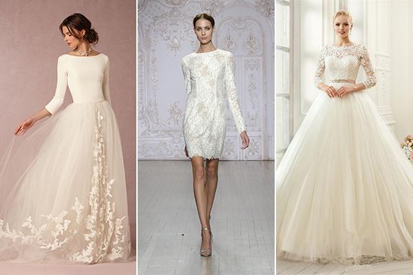 5d4abadd35 Retikül.hu - 10 nőies, hosszú ujjú esküvői ruha, amiben nem fogsz fázni