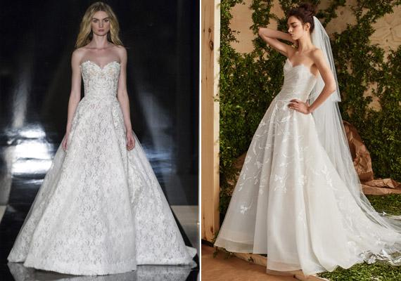 ee3ade1684 Retikül.hu - Képeken a tavaszi esküvőiruha-divat: a legtrendibb fazonok
