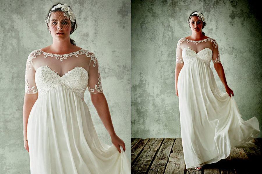 karcsúsító menyasszonyi ruhák
