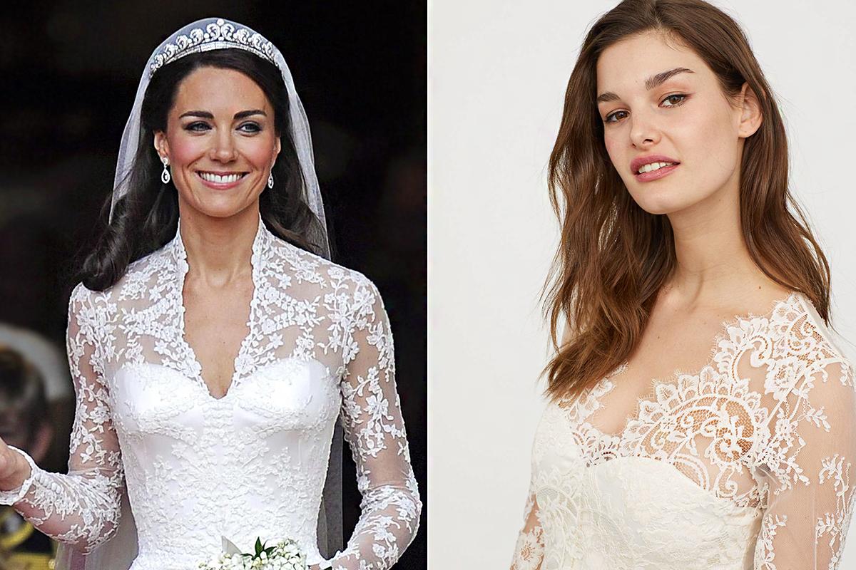 d54a0f7def Katalin hercegné esküvői ruhájában mehetsz férjhez: a H&M lemásolta a híres  fazont