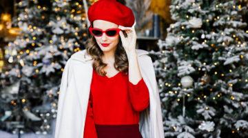 031fe79274 A kötött pulóver ilyen nőies is lehet: 9 last minute outfit-tipp karácsonyra