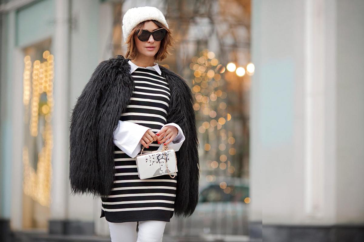 10 téli szett fekete-fehérben: így kombináld, és mindig nőies leszel