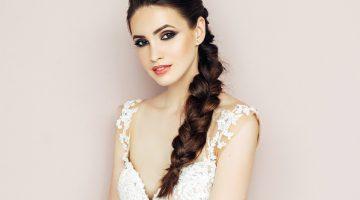 6a0b6205a1 Gyönyörű, fonott frizurák az esküvőre: amilyen egyszerűek, pont olyan  nőiesek