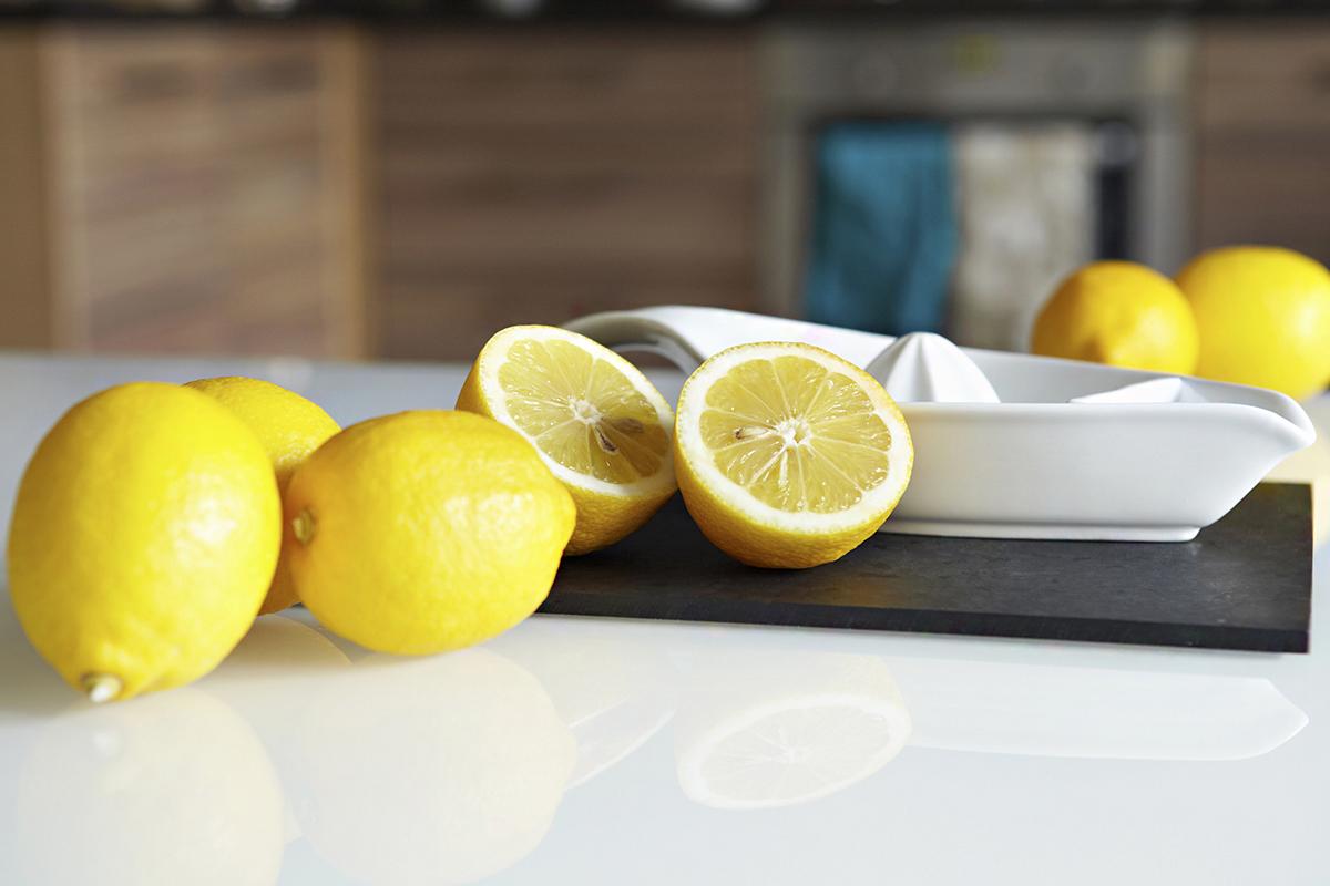 arcmaszk vörös foltokhoz citrommal
