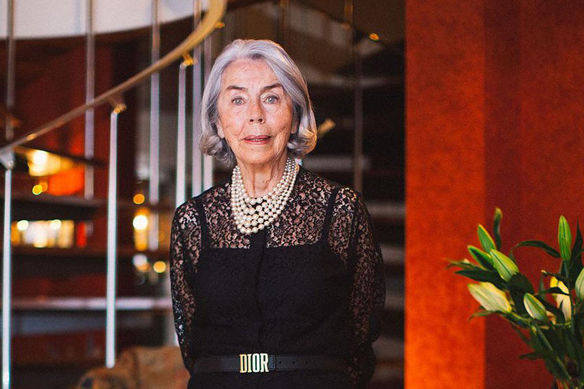 Christian Dior egyik kedvenc modellje volt Odile Kern: így néz ki ma, 88 évesen