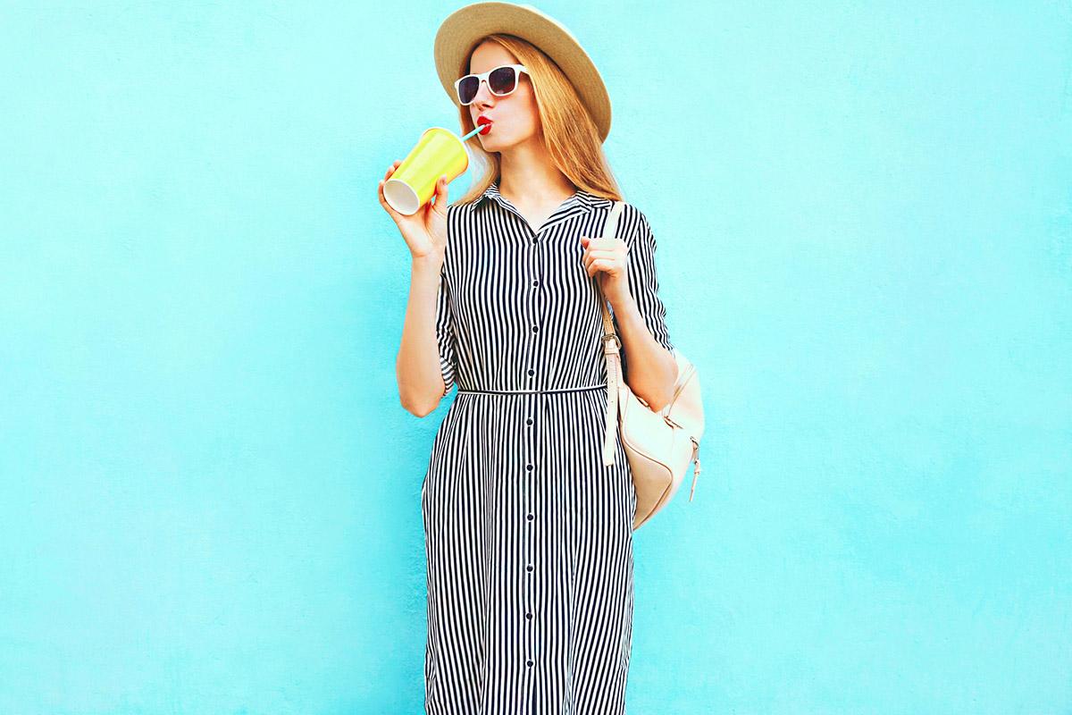 Picike, de öltözködni azt tud: a gyönyörű blogger egyszerű trükkjeit bárki ellesheti
