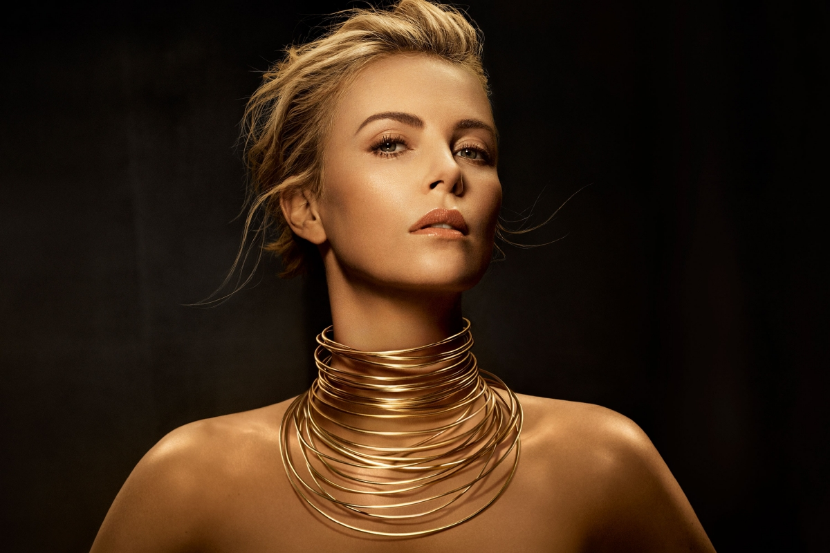 Charlize Theron in Messika Jewelry in 25th Critics Choice
